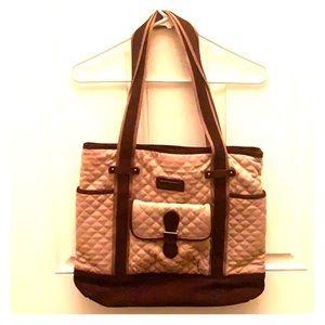 Vera Bradley Tan Tote Bag
